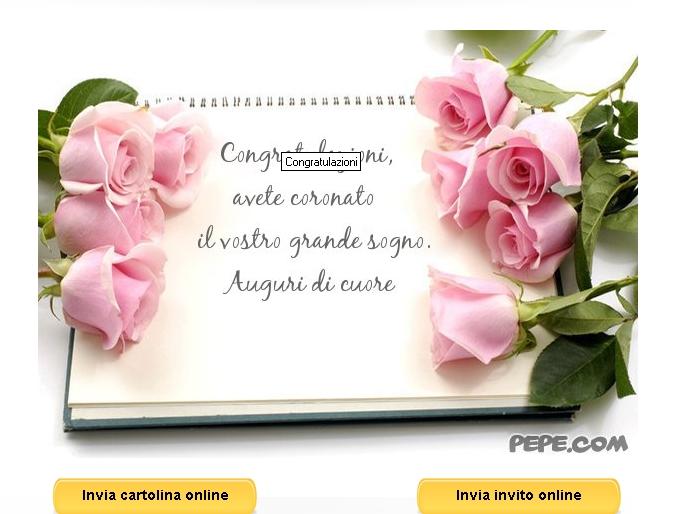 Matrimonio Auguri Inglese : Auguri originali coppia neo sposi guide di notizie